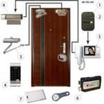 Установка систем контроля и ограничение доступа (СКД), домофоны, монтаж